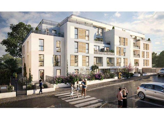 Programme immobilier loi Pinel Le Domaine de la Faisanderie à Verneuil-sur-Seine