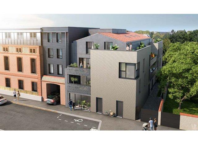 Programme immobilier loi Pinel Le 43 à Toulouse