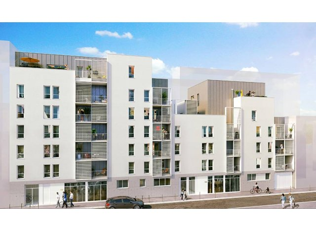 Programme immobilier loi Pinel Wake up à Lyon 3ème