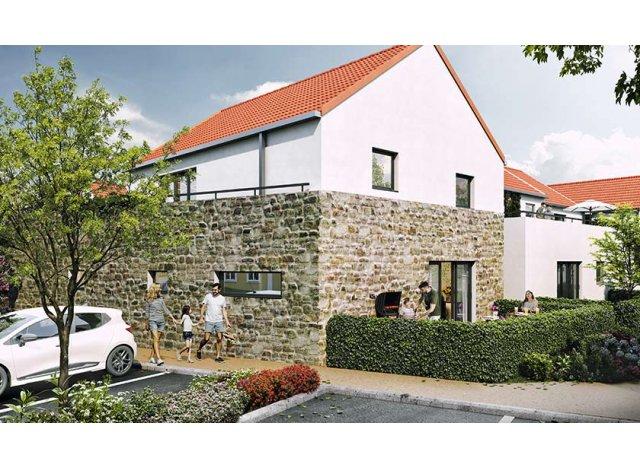 Programme immobilier loi Pinel Domaine de la Faviere à Crespières