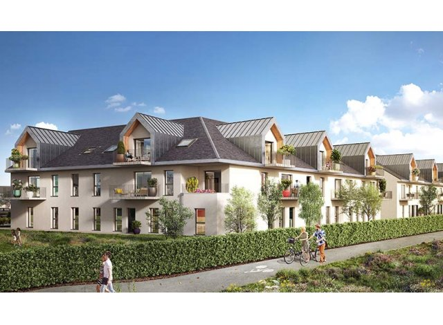 Programme immobilier loi Pinel Residence Caprice à Ouistreham