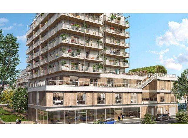 Programme immobilier neuf Lisiere en Seine à Rouen