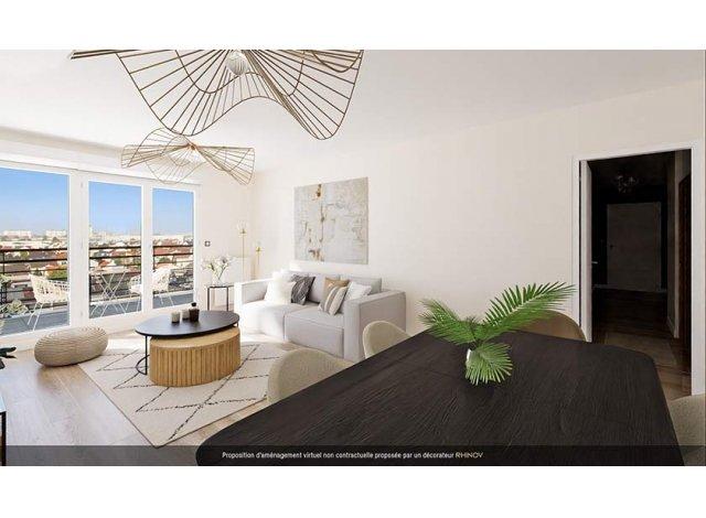 Programme immobilier loi Pinel Elégancia à Drancy