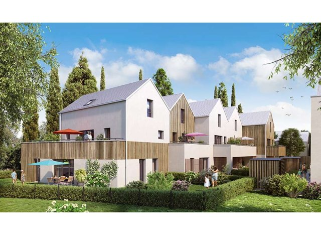 Programme immobilier neuf Les Moulins Becker à Strasbourg