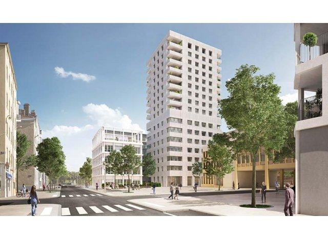 Programme immobilier loi Pinel Écho à Lyon 2ème