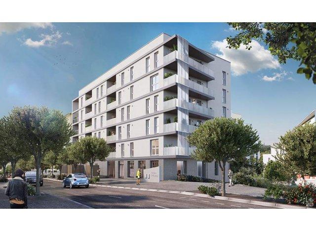 Programme immobilier loi Pinel Prisme Bâtiment a à Clermont-Ferrand