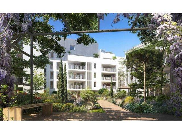 Programme immobilier loi Pinel Domaine Saint Jean à Montpellier