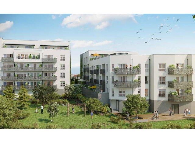 Programme immobilier loi Pinel Garden City - Inten'City à Clermont-Ferrand