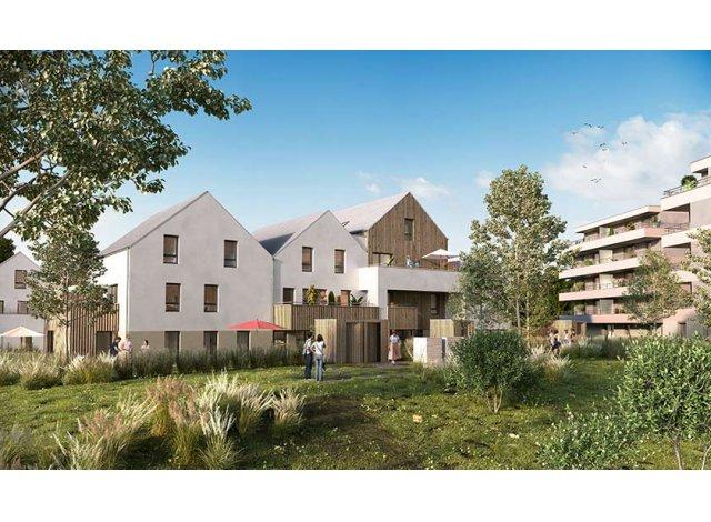 Programme immobilier loi Pinel Les Moulins Becker 2 à Strasbourg