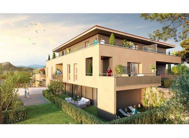 Programme immobilier loi Pinel Esprit Pradet à Le Pradet