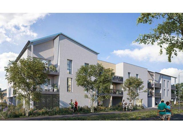 Programme immobilier loi Pinel Les Allees d'Olympe à Montlouis-sur-Loire
