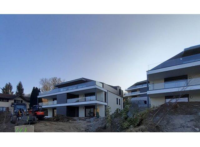 Programme immobilier loi Pinel Scene du Leman à Neuvecelle