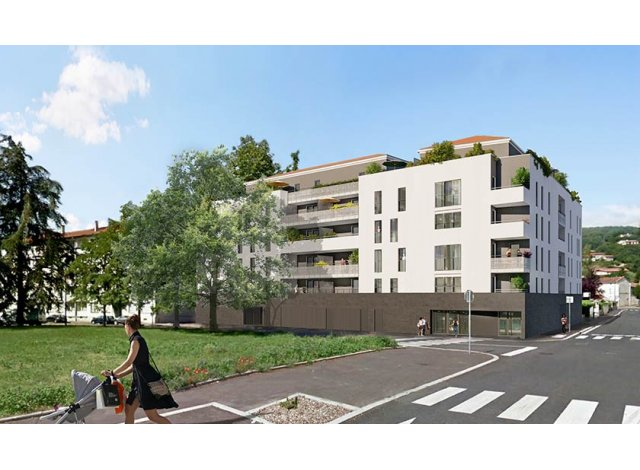 Appartement neuf Anagram' investissement loi Pinel à Givors
