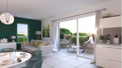 Programme immobilier loi Pinel Les Lodges Saint Roch à Montpellier