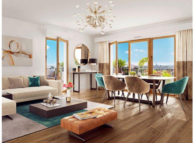 Programme immobilier loi Pinel Rueil-Malmaison C1 à Rueil-Malmaison