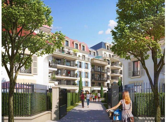 Programme immobilier loi Pinel Clamart C1 à Clamart