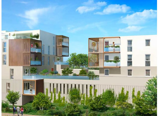 Programme immobilier loi Pinel Ramonville-Saint-Agne C1 à Ramonville-Saint-Agne