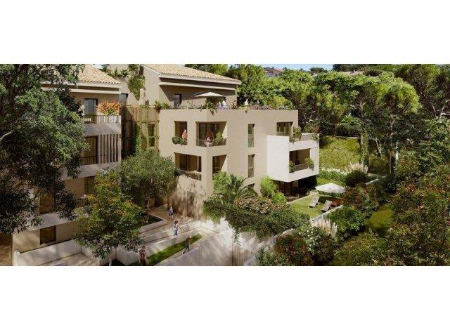Programme immobilier loi Pinel Villeneuve-lès-Avignon C1 à Villeneuve-lès-Avignon
