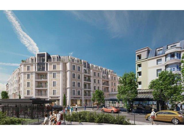 Programme immobilier neuf éco-habitat Franconville-la-Garenne C1 à Franconville-la-Garenne
