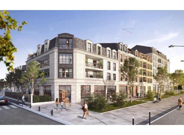 Programme immobilier neuf éco-habitat Champigny-sur-Marne C2 à Champigny-sur-Marne