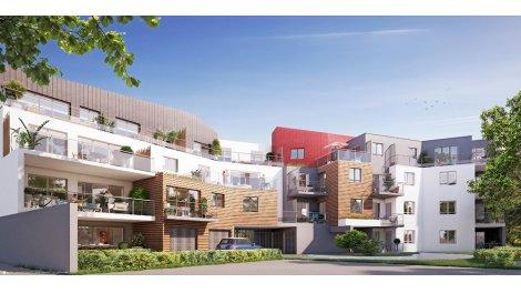 Programme immobilier neuf Résidence Villa Asterias éco-habitat à Saint-Brévin-les-Pins