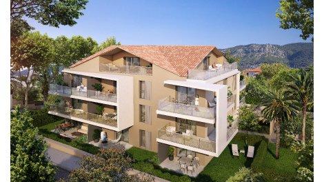 Programme immobilier loi Pinel Pavillon 234 à Toulon