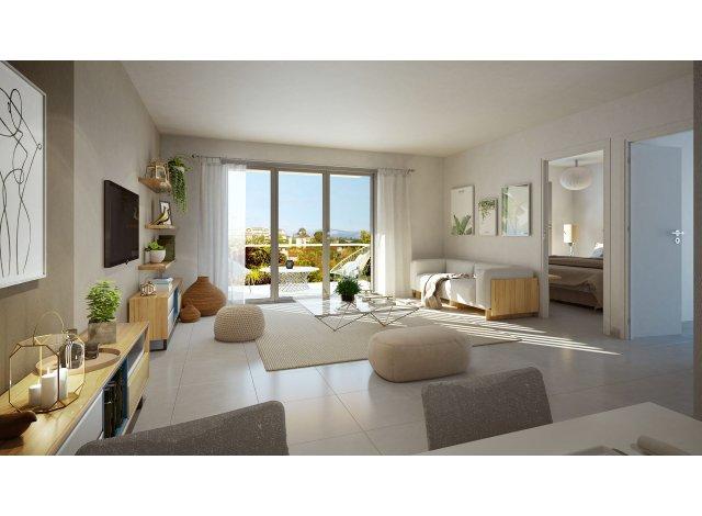 Programme immobilier loi Pinel Cannes la Bocca ap à Cannes-la-Bocca