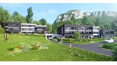 eco habitat neuf à Saint-Alban-Leysse