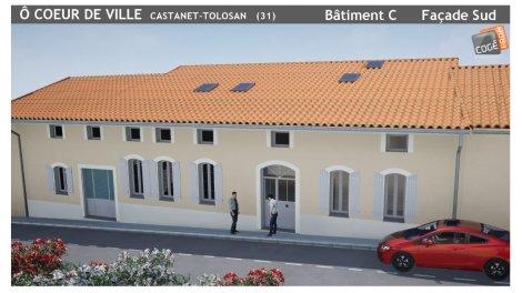 Programme immobilier loi Pinel Ô Coeur de Ville à Castanet-Tolosan
