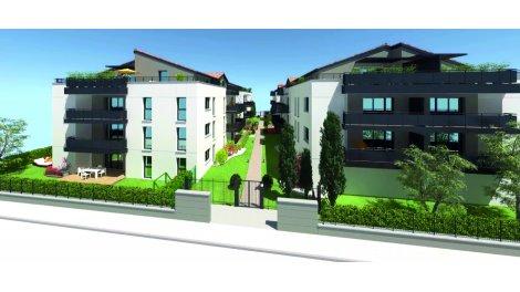 Programme immobilier loi Pinel Les 4 as à Cugnaux