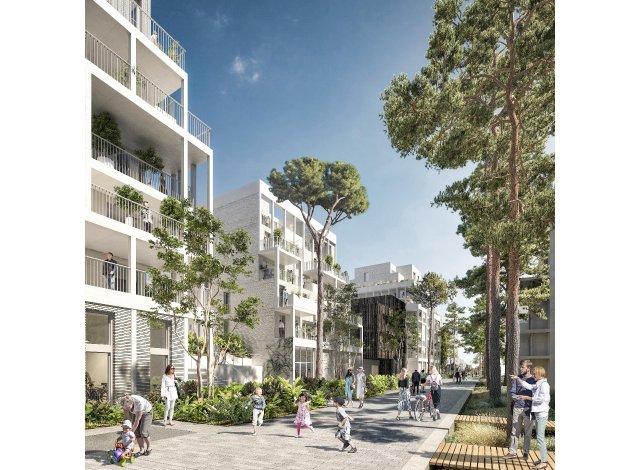 Programme immobilier loi Pinel Noème à Bordeaux