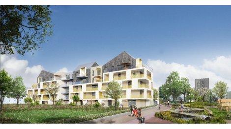 Écohabitat immobilier neuf éco-habitat Lingolsheim Côté Parc - Oberhausbergen