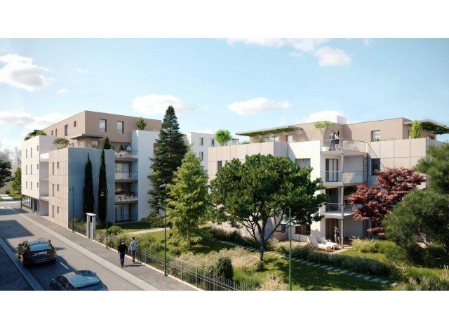 Programme immobilier loi Pinel Les Jardins d'Hypolyte à Tassin-la-Demi-Lune