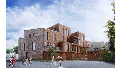 Écohabitat immobilier neuf Résidence Solstice à Lille éco-habitat à Lille