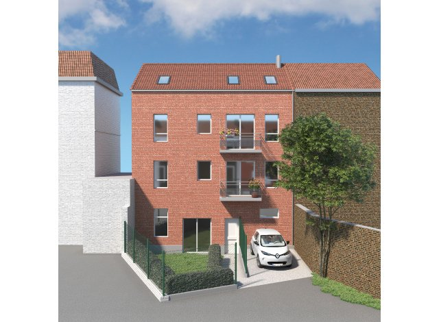 Programme immobilier neuf éco-habitat Urban Square à Lille