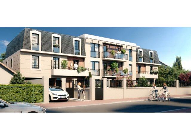 Programme immobilier loi Pinel L'Ernestine à La Queue-en-Brie