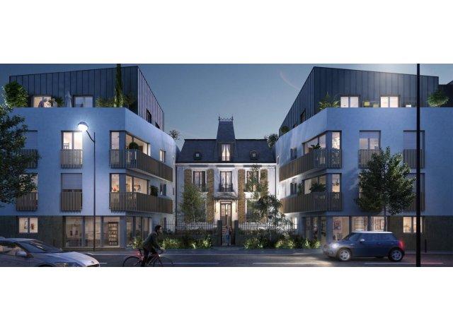 Programme immobilier loi Pinel Élégance à Les Pavillons-sous-Bois