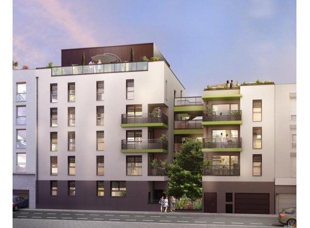 Programme immobilier loi Pinel K-Verde à Villeurbanne