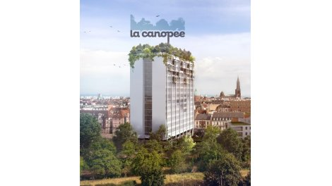 Éco habitat éco-habitat La Canopée à Strasbourg