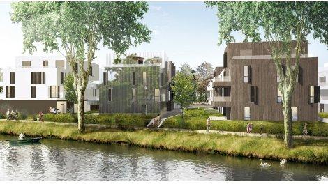 Programme immobilier loi Pinel Les Jardins d'õ à Strasbourg