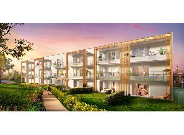 Programme immobilier loi Pinel Les Terrasses de Montgre à Lens