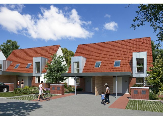 Programme immobilier loi Pinel Domaine d'Alys à Comines