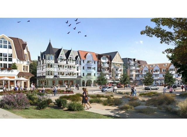 Appartement neuf Quentovic éco-habitat à Le Touquet Paris Plage