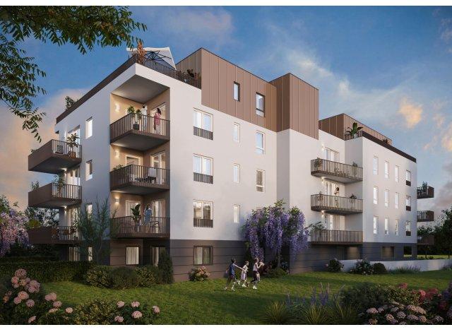 Programme immobilier loi Pinel Jardin de Tully à Thonon-les-Bains