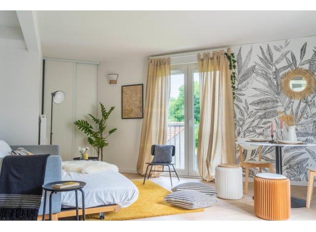 Programme immobilier neuf éco-habitat L'Osën à Pessac