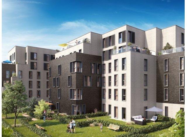 Écohabitat immobilier neuf Pavillon du Jardin des Plantes éco-habitat à Lille