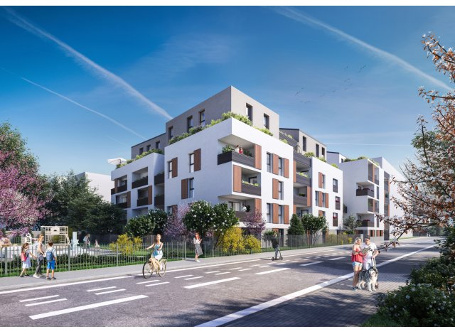 Programme immobilier neuf Meyzieu Les Galeries Perroncel