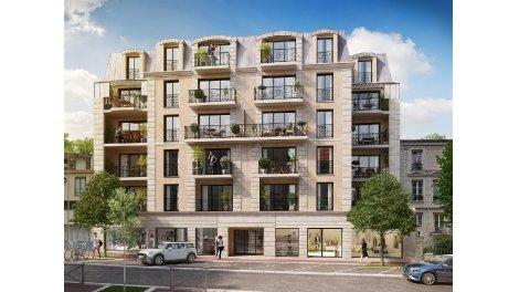 Écohabitat immobilier neuf éco-habitat Meudon Les Balcons de Clamart