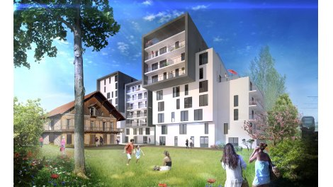 Appartement neuf Villa Alexandre éco-habitat à Lormont