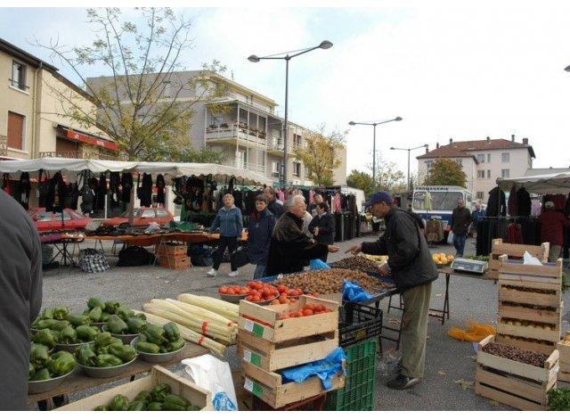 Programme immobilier neuf éco-habitat Vo'Lupté Village à Vaulx-en-Velin